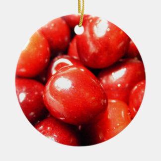 Cerezas Ornamentos De Reyes Magos