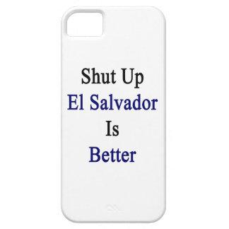 Cerrado El Salvador es mejor iPhone 5 Case-Mate Protectores