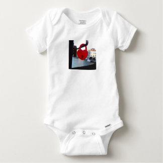 cerradura del amor en Venecia Body Para Bebé