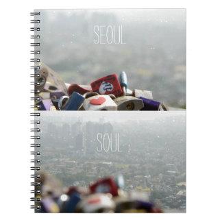 Cerraduras del amor de Seul Cuadernos