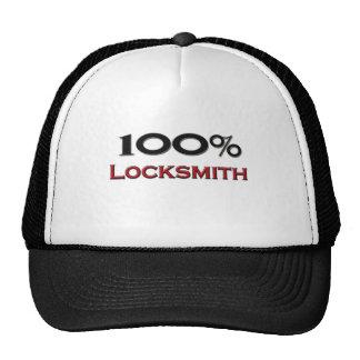 Cerrajero del 100 por ciento gorras