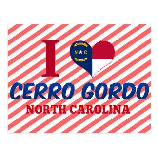 Cerro Gordo Carolina del Norte Postales