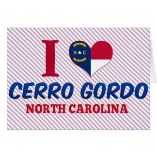 Cerro Gordo, Carolina del Norte Felicitaciones