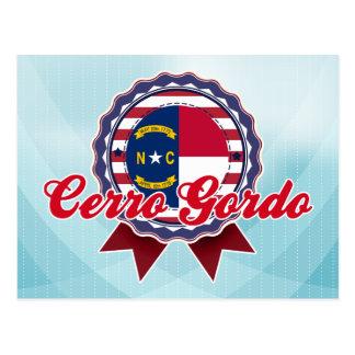 Cerro Gordo NC Tarjetas Postales
