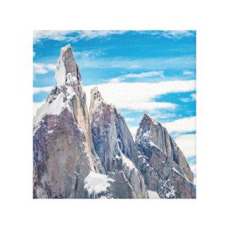 Cerro Torre Parque Nacional Los Glaciares Impresión En Lienzo