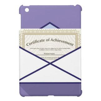 Certificado en vector del sobre