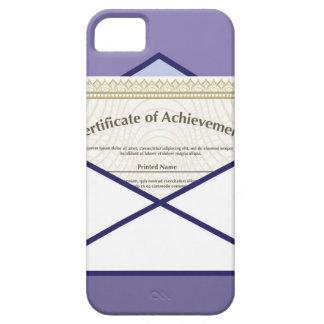 Certificado en vector del sobre iPhone 5 cárcasa