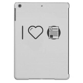 Certificados frescos funda para iPad air