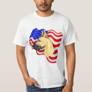 Cervatillo del danés del patriota camiseta