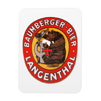Cervecería Baumberger Langenthal imán