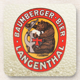 Cervecería Baumberger Langenthal posavasos de