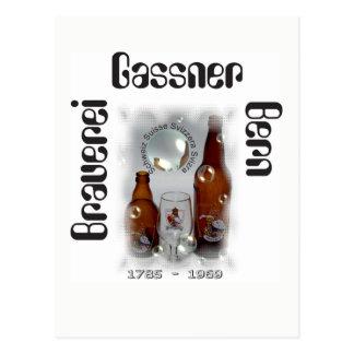 Cervecería Gassner Berna tarjeta postal