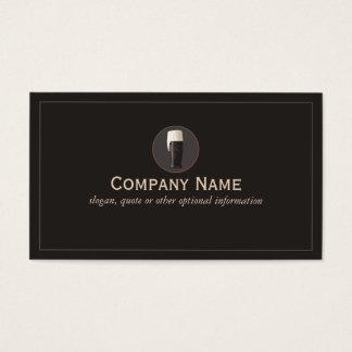 Cervecería oscura del cicerone de la cerveza del tarjeta de negocios