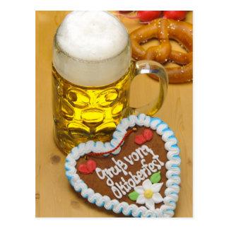 Cerveza bávara 2 postal