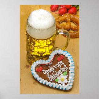 Cerveza bávara 2 póster