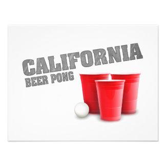 Cerveza clásica Pong de California Comunicados Personales