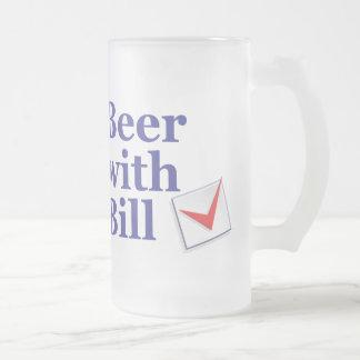Cerveza con Bill: Taza helada