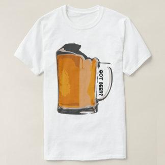 ¿cerveza conseguida? camisetas