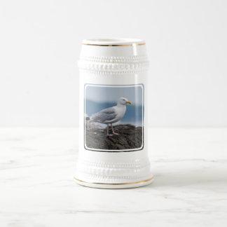 Cerveza costera Stein de la gaviota Tazas