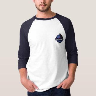 Cerveza de malta azul del cuervo - camiseta del
