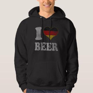 Cerveza del alemán del corazón de Oktoberfest I Sudadera