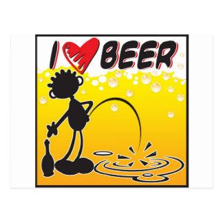 Cerveza del amor de Blacky I Postales