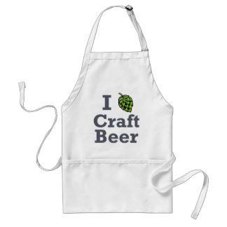 Cerveza del arte I [del salto] Delantal