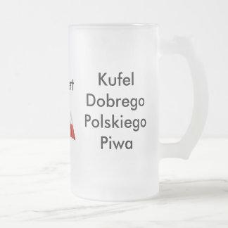 Cerveza del polaco de la taza de cerveza