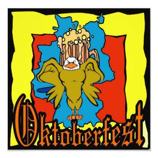 Cerveza Deutschland de Oktoberfest Alemania Invitaciones Personalizada
