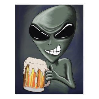 Cerveza es lo que estamos bebiendo la postal II