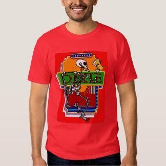 Cerveza esquelética 2 de Dixie Camiseta