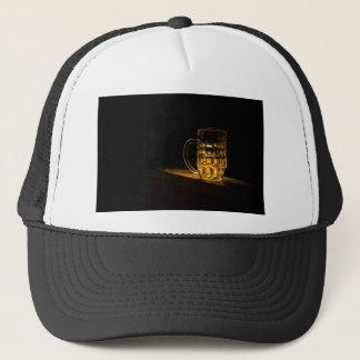 cerveza gorra de camionero
