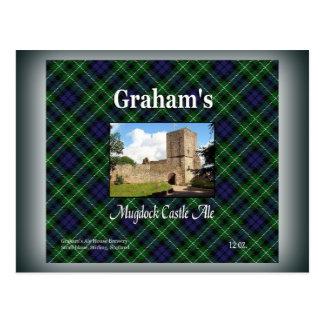 Cerveza inglesa del castillo de Mugdock de Graham Postal