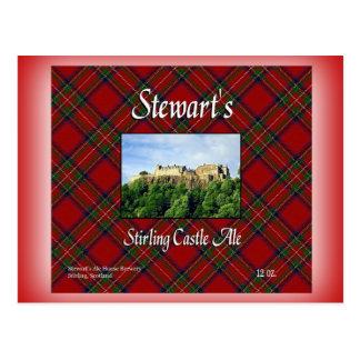 Cerveza inglesa del castillo de Stirling de Postal