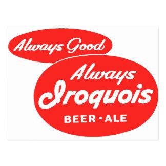 Cerveza inglesa Iroquois Postal