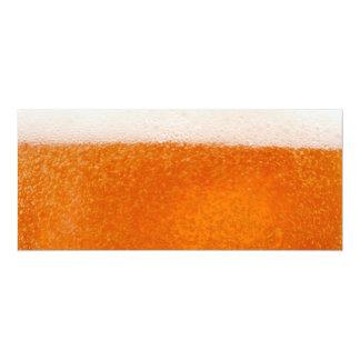 Cerveza Invitación 10,1 X 23,5 Cm