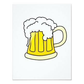 Cerveza Invitación 10,8 X 13,9 Cm