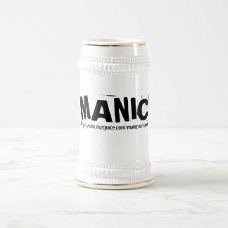 Cerveza MANÍACA Stein Tazas