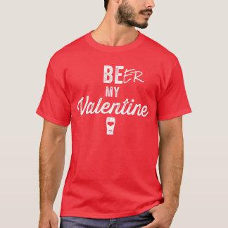 Cerveza mi camiseta de la tarjeta del día de San