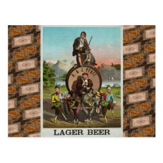 ¡Cerveza! Postal