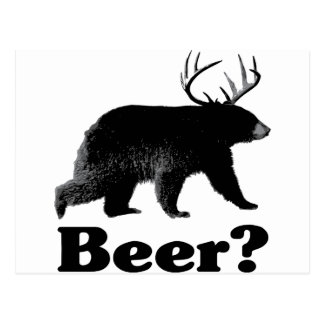 ¿Cerveza? Postal