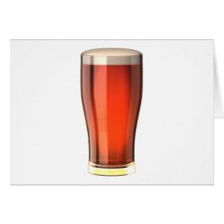 Cerveza real de la cerveza inglesa felicitacion