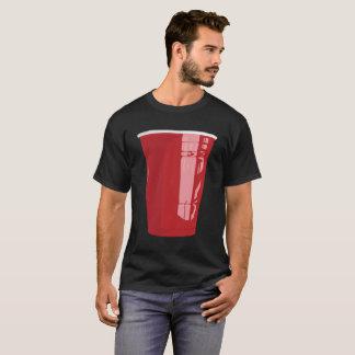 Cerveza roja Pong de la camisa de la taza
