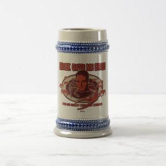 ¡Cerveza Stein de los cangrejos de la tirada! Jarra De Cerveza