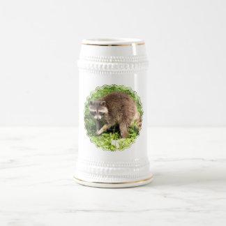 Cerveza Stein del mapache Jarra De Cerveza