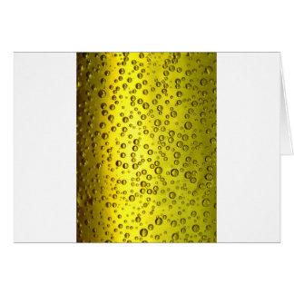 Cerveza Tarjeta De Felicitación