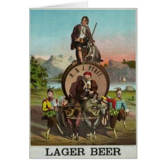 ¡Cerveza! Tarjeta De Felicitación