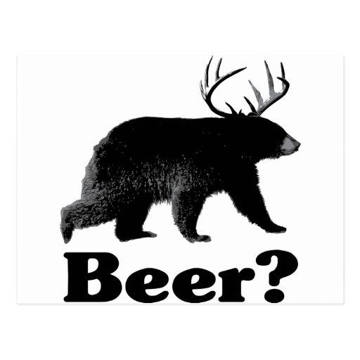 ¿Cerveza? Postales