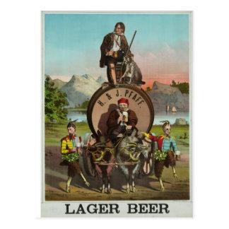 ¡Cerveza! Tarjeta Postal