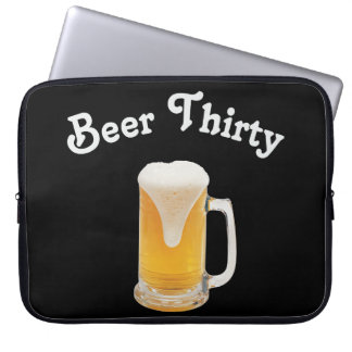 Cerveza treinta funda computadora